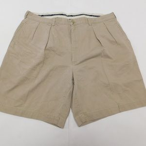 Polo Ralph Lauren 42 Beige Casual Shorts Pleated C